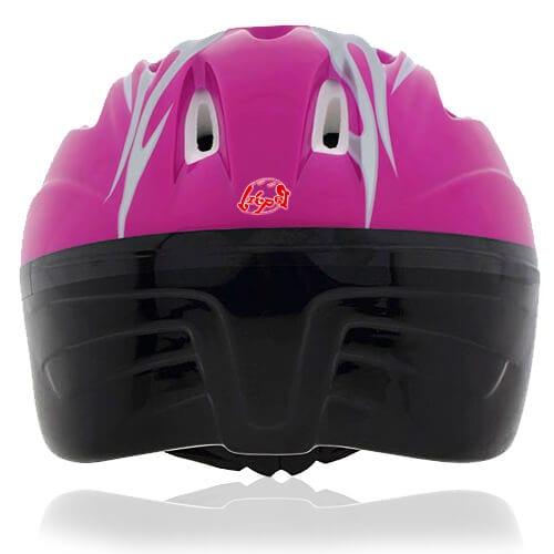 Blush Bird Kids Helmet LH214 back for child skater, roller, scooter, skateboard, longboard, balance bike and bike sport safe accessory