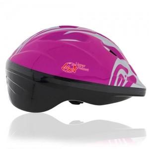 Blush Bird Kids Helmet LH214 side for child skater, roller, scooter, skateboard, longboard, balance bike and bike sport safe accessory