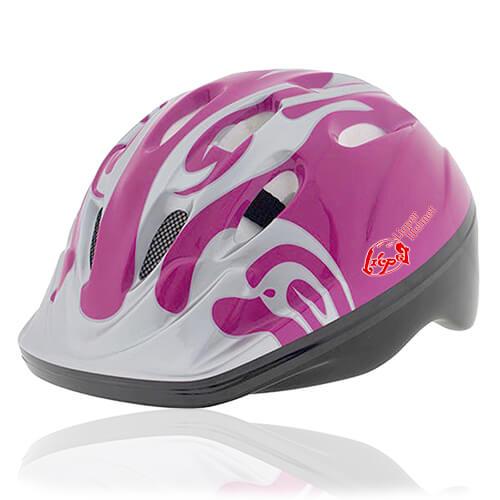 Blush Bird Kids Helmet LH214 for child skater, roller, scooter, skateboard, longboard, balance bike and bike sport safe accessory