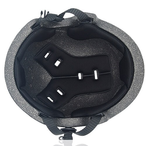 Polygon Pansy Skate Helmet LH036 Black inner for adults scooter, freestyle roller skater, inline skater and skateboarder safe accessory tools