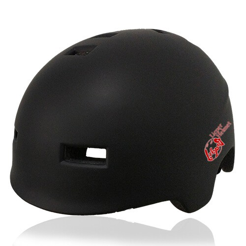 Polygon Pansy Skate Helmet LH036 Black for adults scooter, freestyle roller skater, inline skater and skateboarder safe accessory tools