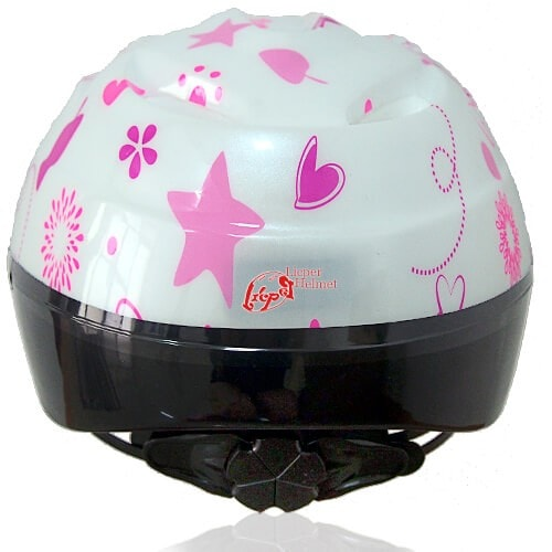 Coffee Cat Kids Helmet LH208 back for child skater, roller, scooter, skateboard, longboard, balance bike and bike sport safe accessory