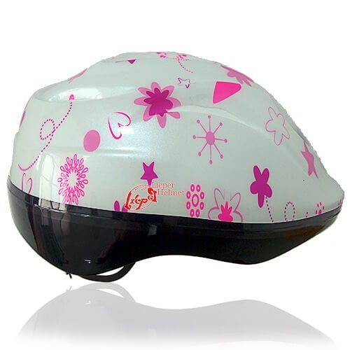 Coffee Cat Kids Helmet LH208 side for child skater, roller, scooter, skateboard, longboard, balance bike and bike sport safe accessory