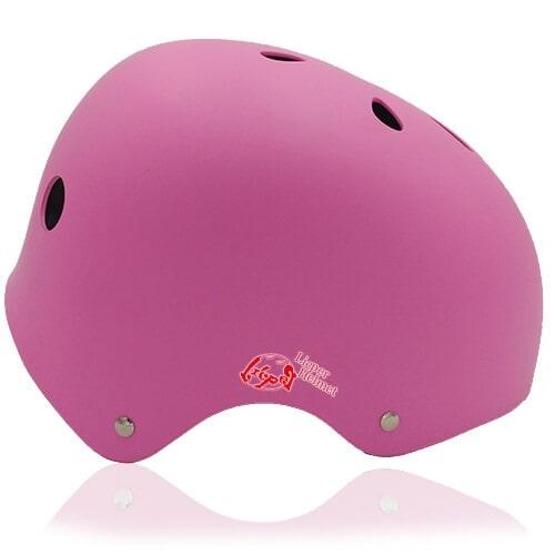 Denim Dog Kids Helmet LH501 side for child skater, roller, scooter, skateboard, longboard, balance bike and bike sport safe accessory