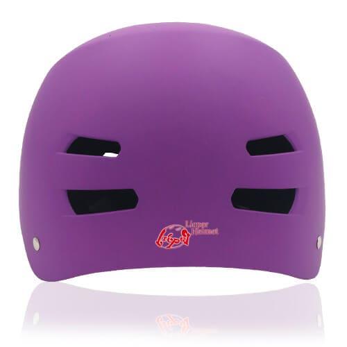 Diamond Daisy Skate Helmet LH513 Purple back for adult roller, scooter, skateboarder, inline skater, bike and balance bike safe accessory tools