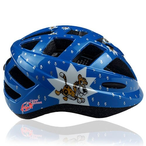 Drab Duck Kids Bicycle Helmet LHD500 side for child skater, roller, scooter, skateboard, longboard, balance bike and bike sport safe accessory