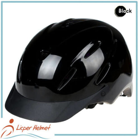PC coated ABS Horse Riding Helmet LH-LY25 black for horse riding sport protective tools safety accessories