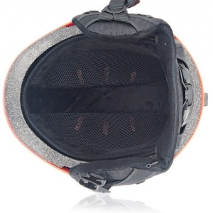 Kind Kiwi Ski Helmet LH038A Orange inner for adults skiing, snowboarding, ski racing and snow skate safety and warm accessory tools
