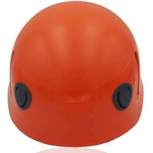 Lucky Liane Climbing Helmet LH208C Orange front for adults and kids rock climbing, mountain climbing and indoor climbing safety accessory tools