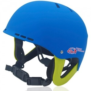 Ms Koala Water-sport helmet LH038W blue for kids kayak, raft and water skate sport protective safe accessory tools