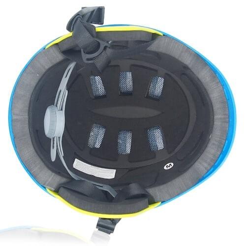 Ms Koala Water-sport helmet LH038W blue inner for kids kayak, raft and water skate sport protective safe accessory tools