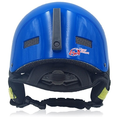 Oily Oak Ski Helmet LH130A Blue back for adults skiing, snowboarding, ski racing and snow skate safety and warm accessory tools