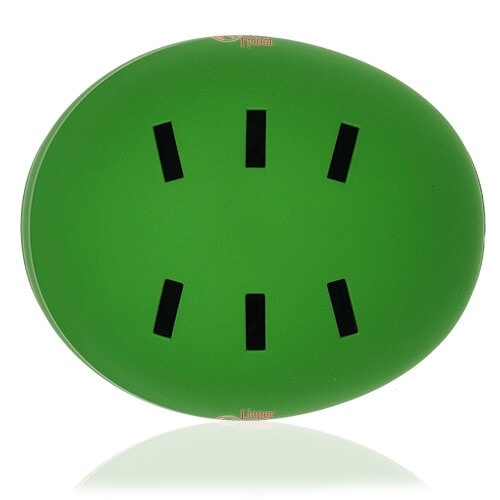 Prism Kale Skate Helmet LH038 Green top for adult scooter, roller, inline skater, skateboarder, long boarder and balance bike rider safe accessory tools