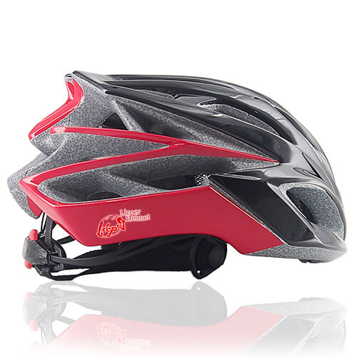 Witty Wolf Bicycle Helmet LH928 side for adults road bike racing and mountain bike racing protective accessory tool