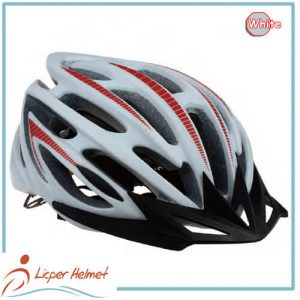 In-mold PC Printed Shell Bicycle Helmet LH-948 white for adults bike sport safety accessories