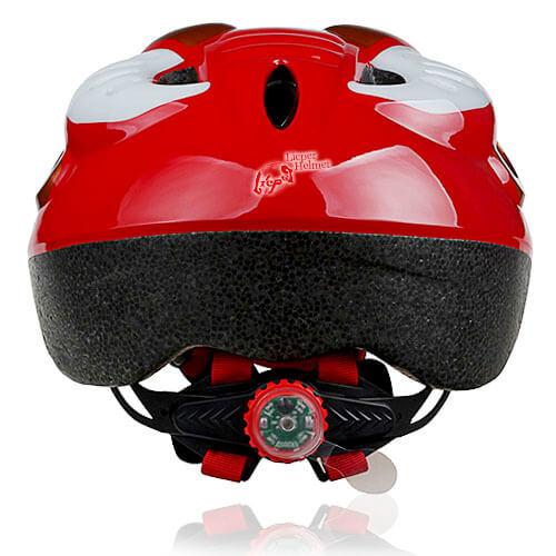 Orange Ox Kids Helmet LHL02 back for child skater, roller, scooter, skateboard, longboard, balance bike and bike sport safe accessory