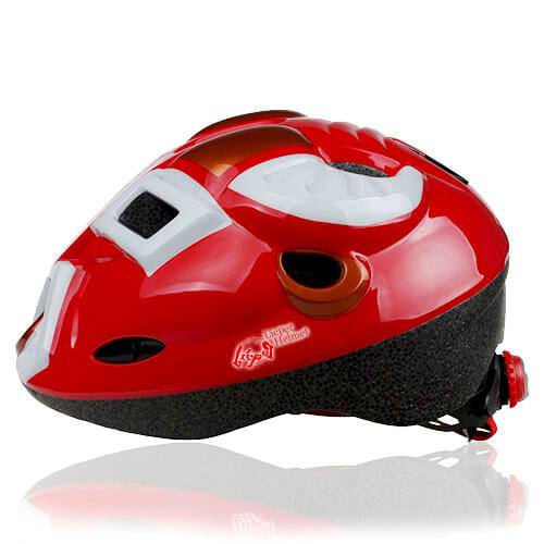 Orange Ox Kids Helmet LHL02 side for child skater, roller, scooter, skateboard, longboard, balance bike and bike sport safe accessory