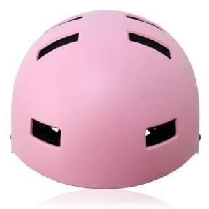Oval Orchid Skate Helmet LH130 Pink front for adults scooter, roller skate, skateboard, long board, inline skate and balance bike sport safe accessory tools