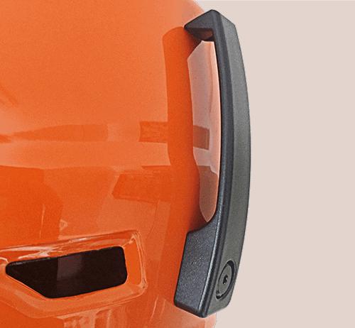 Licper's Ski helmet goggle clip