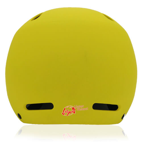 Sphere Sage Skate helmet LH033 Yellow front for kids skate, roller, skateboard, inline player and balance bike player protective safe accessory tools