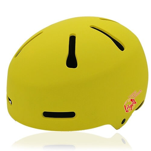 Sphere Sage Skate helmet LH033 Yellow for kids skate, roller, skateboard, inline player and balance bike player protective safe accessory tools