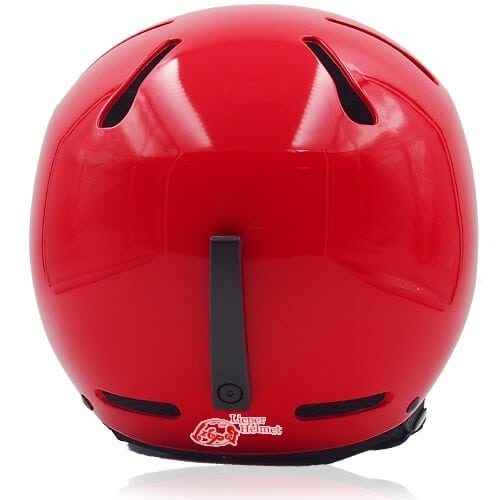 Sweet Shrub Ski Helmet LH033A red back for kids skier, children snowboarder and snow skate beginner safe gear