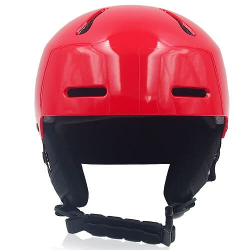 Sweet Shrub Ski Helmet LH033A red front for kids skier, children snowboarder and snow skate beginner safe gear