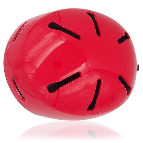 Sweet Shrub Ski Helmet LH033A red top for kids skier, children snowboarder and snow skate beginner safe gear