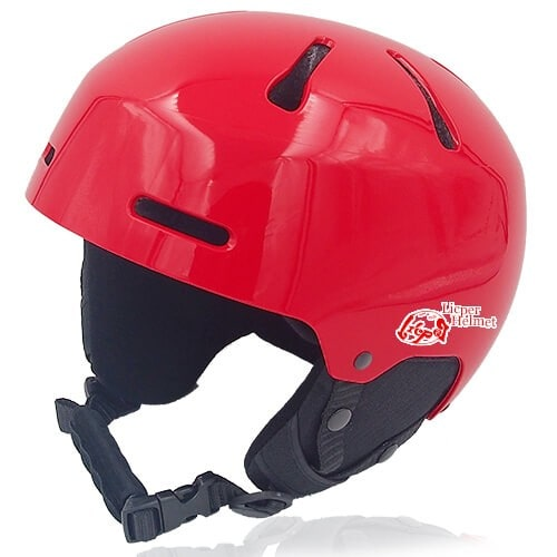 Sweet Shrub Ski Helmet LH033A red for kids skier, children snowboarder and snow skate beginner safe gear
