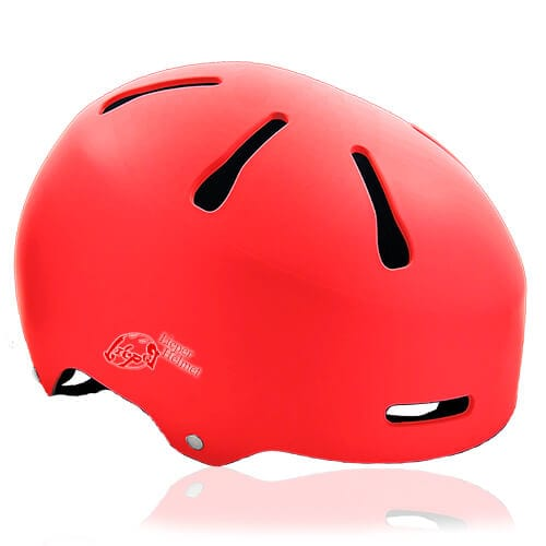 Mr Sloth Junior Water-sport helmet red for kids kayak, raft and water skate sport protective safe accessory tools