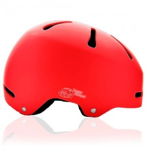Mr Sloth Junior Water-sport helmet LH-033W red side for kids kayak, raft and water skate sport protective safe accessory tools