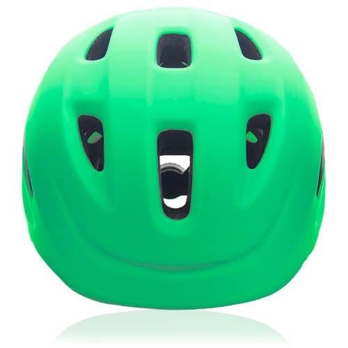 Flax Frog Kids Helmet LH030 front for child skater, roller, scooter, skateboard, longboard, balance bike and bike sport safe accessory