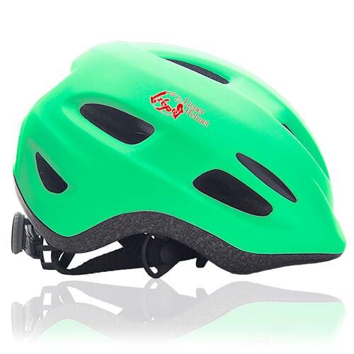 Flax Frog Kids Helmet LH030 side for child skater, roller, scooter, skateboard, longboard, balance bike and bike sport safe accessory
