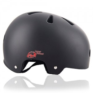 Cube Cactus Skate Helmet LH519 black side for adult skater, skateboarder, inline player, roller and scooter safe accessory tools