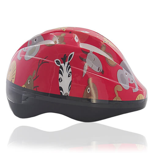 Red Rabbit Kids Helmet LH204 side for child skater, roller, scooter, skateboard, longboard, balance bike and bike sport safe accessory